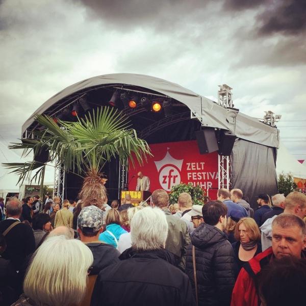 #mambokurt auf dem #zeltfestivalruhr2016 #rocknrollmadness #orgel rules
