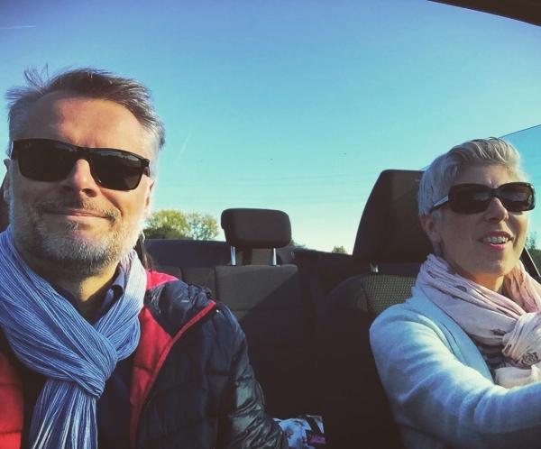Cabriotour in der schönen Herbstsonne! 🍂☀️👪🍁